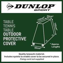 Dunlop Protective Table Tennis Table Cover / Tarpauline Northmead Parramatta Area Preview