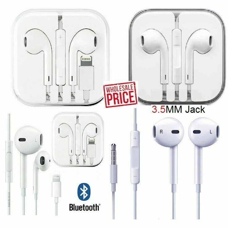 Wired Headset Headphones Earbuds For iPhone 5 6 7 8 Plus X XS MAX XR 11 SE Gift