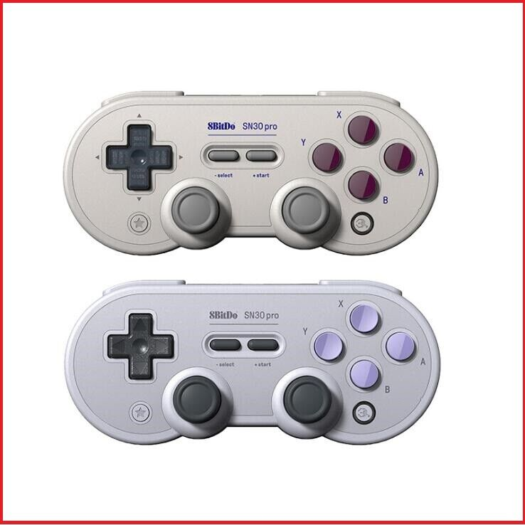 8Bitdo SN30 Pro G Classic / SN Bluetooth GamepadSwitch PC Android Steam RaspPi Controllers & Attachments