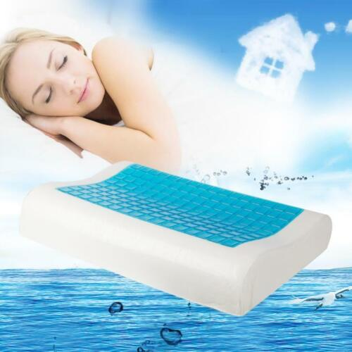 Memory Foam Bed Pillow With Cooling Comfort Gel Orthopedic S