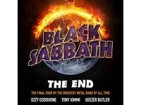 Black Sabbath Final Tour 3 Arena Dublin