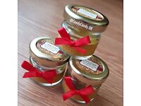 Personalised Mini Wedding Favour Jars Empty or Filled with Sweets