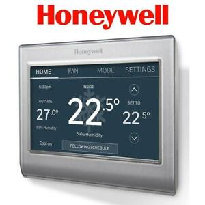 OB HONEYWELL WIFI SMART THERMOSTAT RTH9585WF1012/W 264625553 Heating Cooling and Water Management Smart Thermostats O...