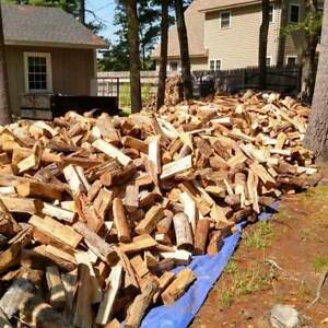 Do you own a wood stove you get cords of wood delivered