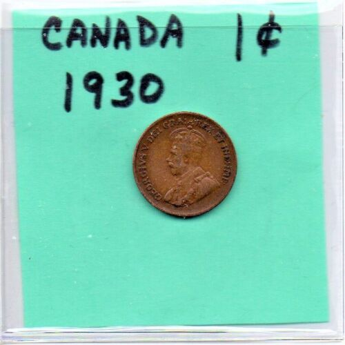 Canada 1 Cent King George V 1930