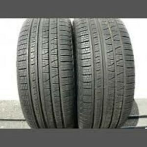 255/55R20 Set of 2 Pirelli Used Free Inst.&Bal.75%Tread Left