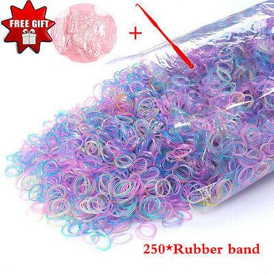 - 500 High Elastic Rubber Band Braiding Plaits Small Bands Bracelet DIY Necklace