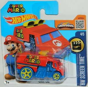 Hot Wheels 1/64 Scale Cool-One Super Mario Brothers Diecast Car