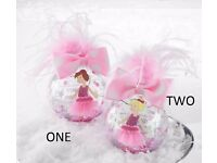 A MUD PIE 'PRINCESS' ORNAMENT/BAUBLE - 2 Different designs available - BNWT