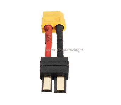 W-051 Adaptador Conector Cable Adaptador Traxxas Macho A XT60 Macho HIMOTO