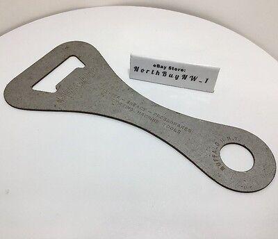 Vintage Niagara Metal Tool Presses Shears Fabricating Machine Adjust - Opener