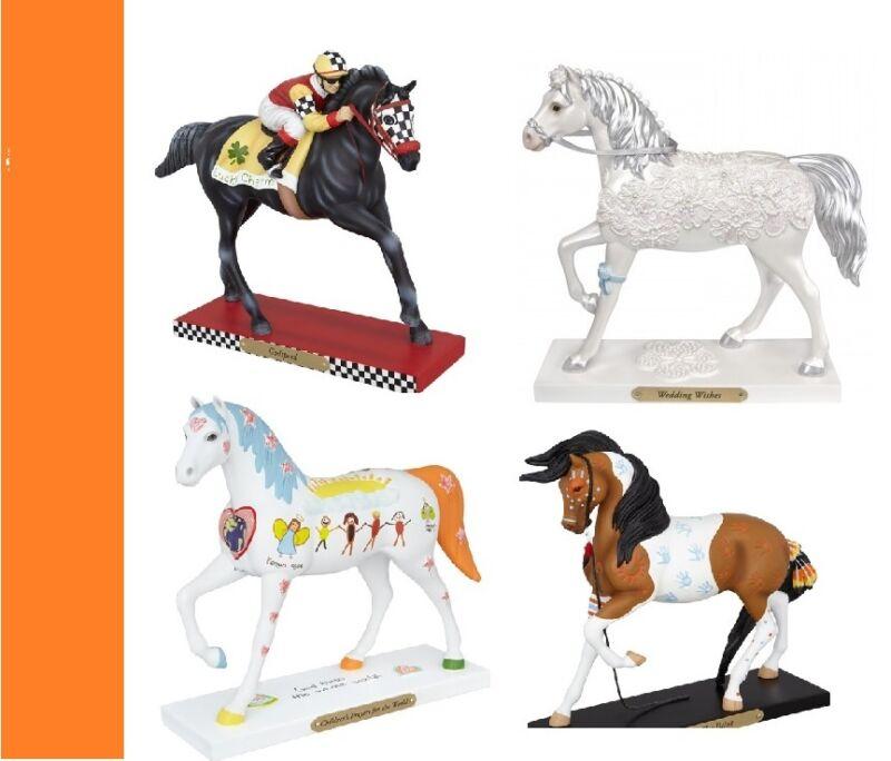Trail of Painted Ponies - Set of the 35th Release NEW - 1E/ 4 Total.