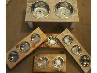 Luxury Pet Bowl Feeder Various Sizes & Colours