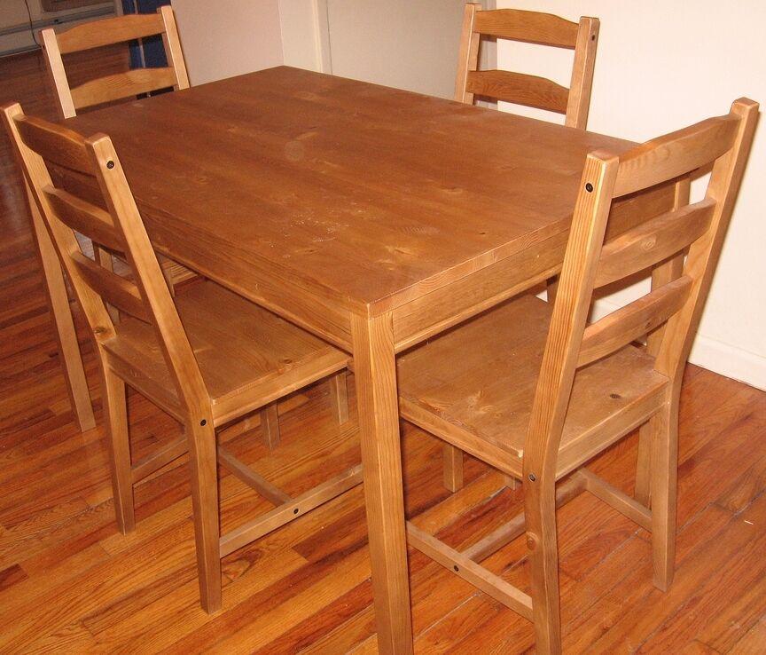 4 Ikea Jokkmokk Wodden Table Tables And 21 Chairs Extra