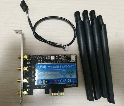 Broadcom BCM94360CD 802.11ac 1750Mbps Desktop PCi-E WiFi Adapter Hackintosh + BT