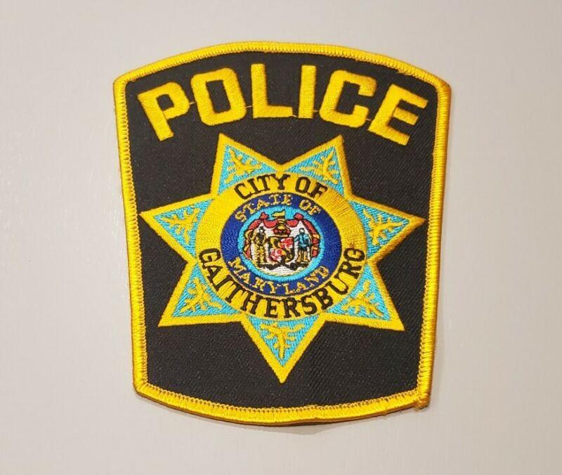 Gaithersburg Maryland Police Shoulder Patch OS