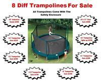 SALE*SALE* TRAMPOLINES * SAFE FOR KIDS* $149.99