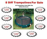 SALE*SALE* TRAMPOLINES * SAFE FOR KIDS* $149.99