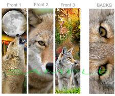 Fox Wolf Deer Printed bookmarks  Original art  Fantasy Art  Illustration  Reading  Owl Set of FIVE BOOKMARKS Squirrel