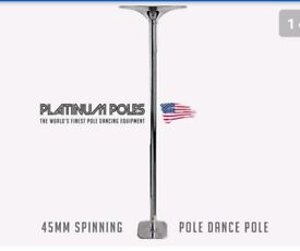 Platinum Spinning Pole