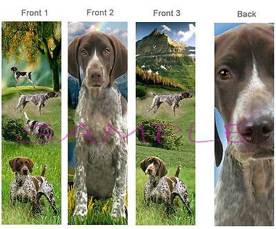 3 - German Shorthaired Pointer Bookmark Dog Art Book Mark Card Figurine Ornament