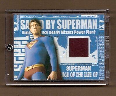 SUPERMANS Unterweist Kostüm Karte Superman Returns Brandon Routh