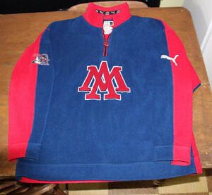 Puma embroidered Montreal Allouettes pull over fleece XL CFL