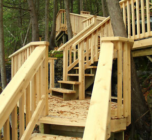 Deck and Wood Features - Free Quotes - One Stop Home Solutions Kawartha Lakes Peterborough Area image 6