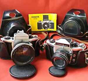 EXAKTA VX 500 Camera's 1969/70 German Made, SLR 35mm w/ Acc London Ontario image 1