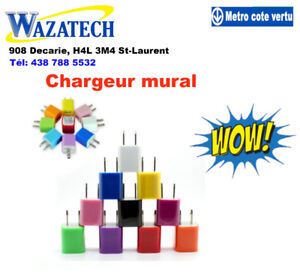 Chargeur mural