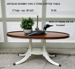 SALE - ANTIQUES: COFFEE TABLE, TOOL CADDY, IKEA ITEMS........