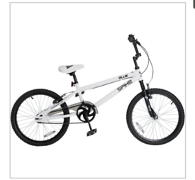 """Spike Ollie BMX 20"""" bike"""
