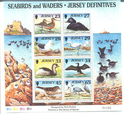 Jersey Seabirds & Waders min sheet mnh