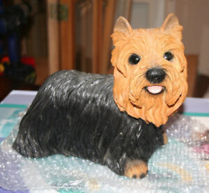 Yorkshire Terrier Dog Statue