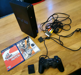 Sony PlayStation 2 PS2 console with games bundle