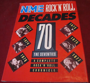 ROCK & ROLL DECADES - The 70's Hard Cover Book *Out Of Print* Kitchener / Waterloo Kitchener Area image 1