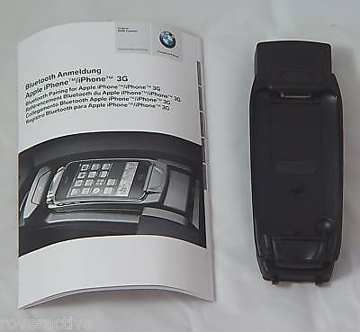 BMW Original Bluetooth Apple Iphone 3G Adapter Cradle E36 E46 E60 E63 X5 E92 E90 ()