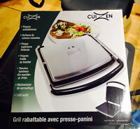 Grill panini grille pain NEUF (Cadeau st Valentin)
