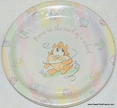 BABY LOONEY TUNES Classic Party Birthday Plates CAKE Decoration Favors Tweety NW