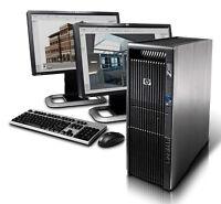 HP Z600 Workstation 2xSix-Core 24GB DDR3 2TB HDD Powerful System
