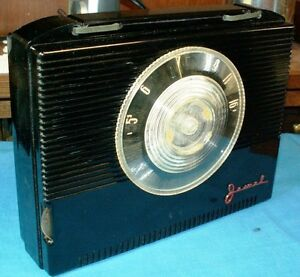 JEWEL PORTABLE TUBE RADIO MODEL 5310