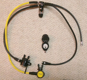 Scuba diving Oceanic regulator and computer scuba diving