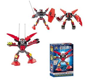 Space Warrior Robot - Building Block Brick Set 6051