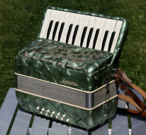 Marrazzo 12 Bass Accordion - Recently serviced & ready to go