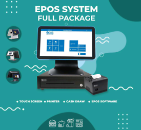 BRAND NEW EPOS/ POS TILL SYSTEM (Metal Base & Water Resistant)