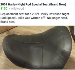 2009 harley night road special seat (brand new)