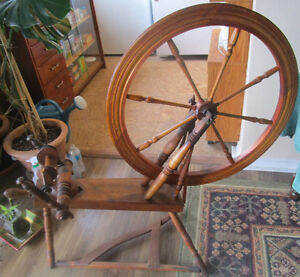 Antique spinning wheel 4 sale