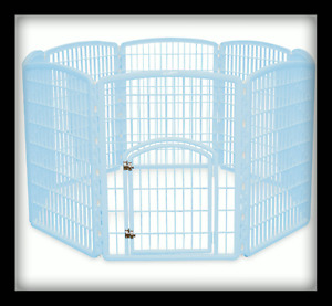 Iris Pet Pen Blue