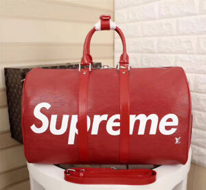 Louis Vuitton x Supreme #bag  Keepall Bandouliere  hight quality