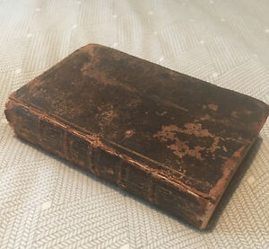 Vintage 1860 Book - Family Encyclopedia